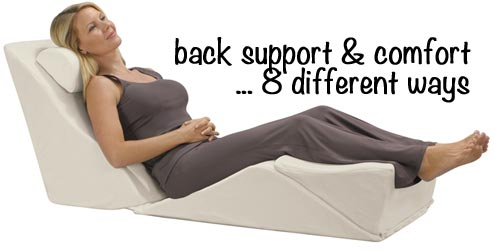 knee back leg sleeper pain pillow for lumbar sleepers best support and